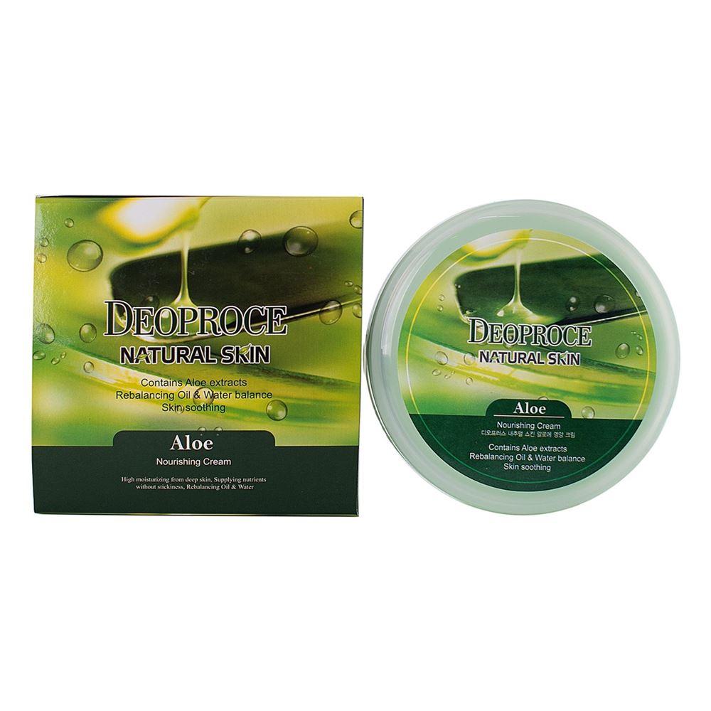 Крем Deoproce Aloe Nourishing Cream 100 мл крем deoproce cucumber nourishing cream