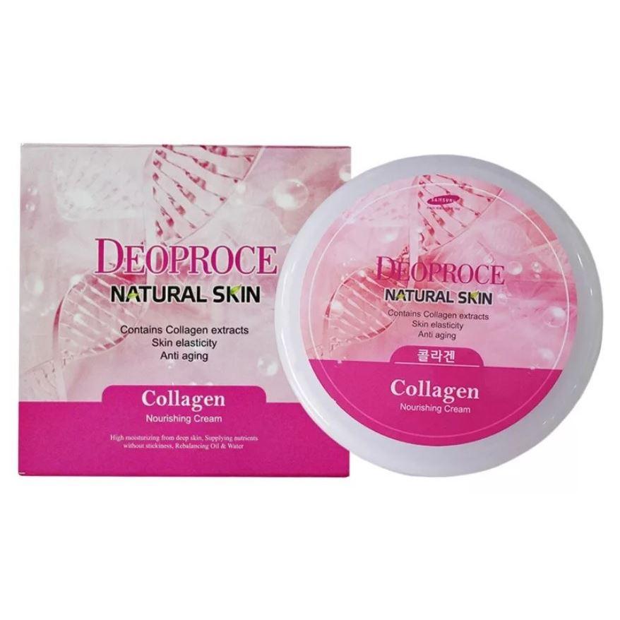 Крем Deoproce Collagen Nourishing Cream крема