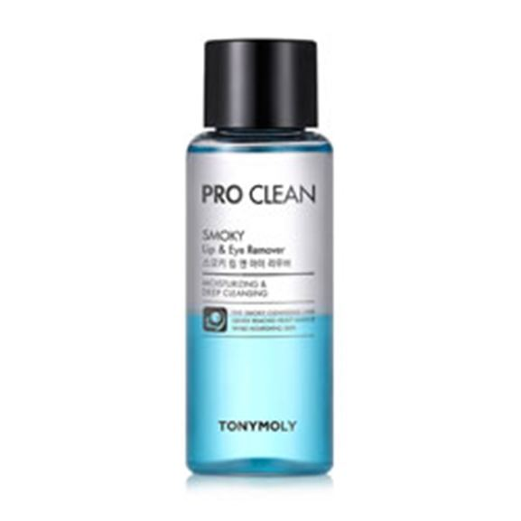 Жидкость Tony Moly Pro Clean Smoky Lip & Eye Remover 100 мл