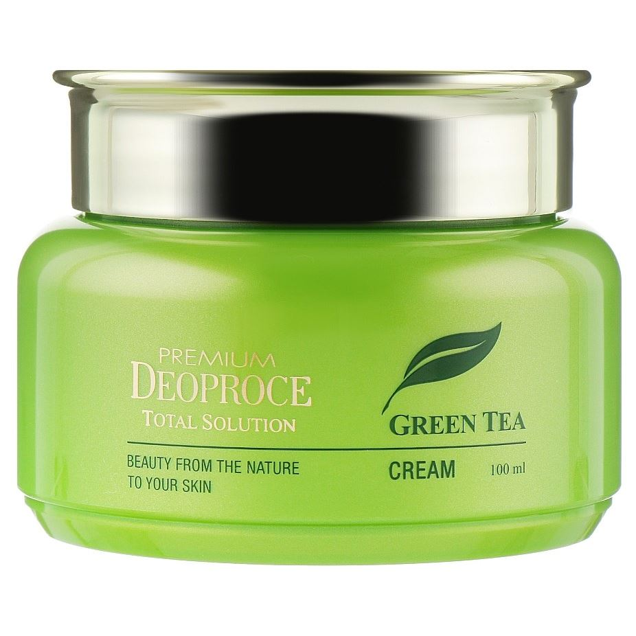 Крем Deoproce Green Tea Total Solution Cream 60 мл лосьон deoproce coenzyme q10 firming lotion