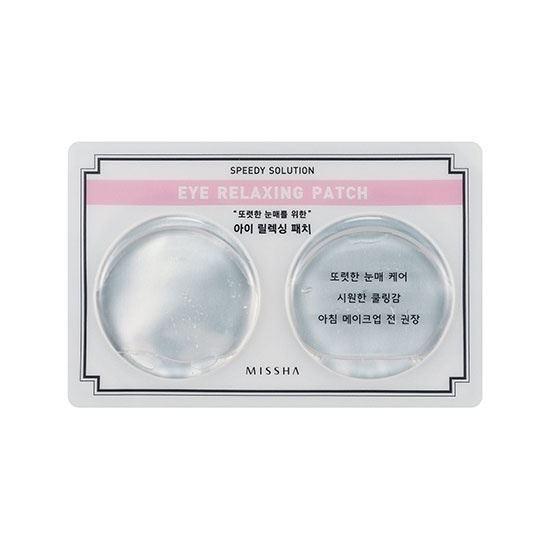 Пластырь Missha Speedy Solution Eye Relaxing Patch (1 шт.) missha бальзам для волос