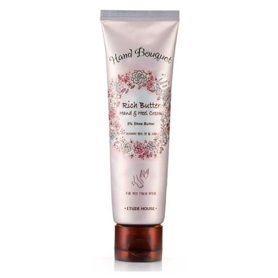 Крем Etude House Hand Bouquet Rich Butter Hand Cream 50 мл labiotte marryeco relaxing hand cream with cornflower крем для рук с экстрактом василька 50 мл