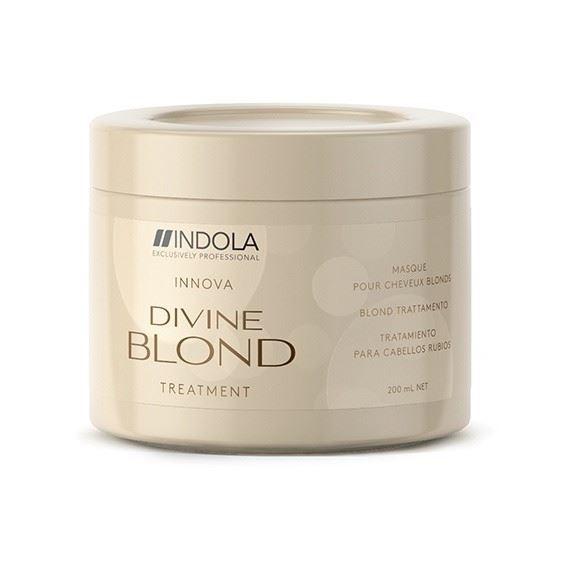 Маска Indola Professional Divine Blond Treatment 250 мл indola professional чарующее сияние маска восстанавливающая смываемая 200 мл