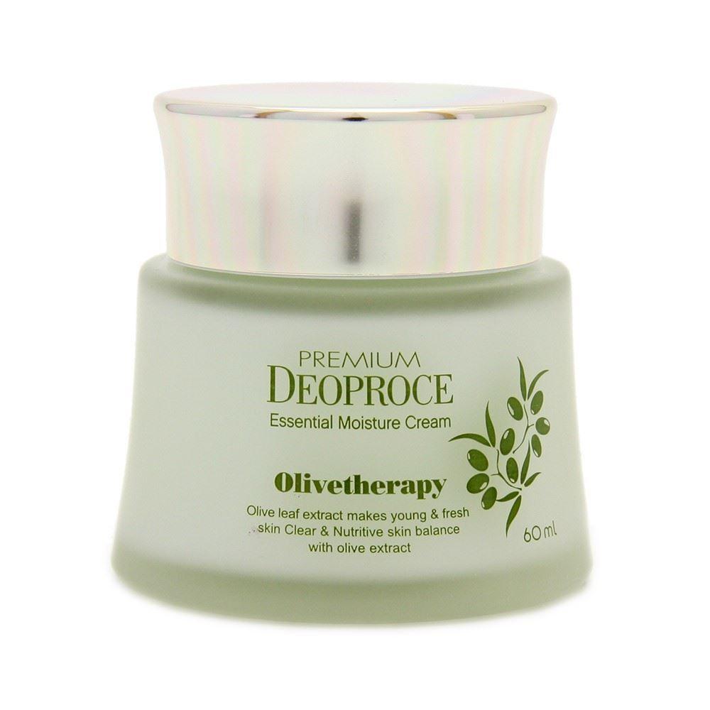 Крем Deoproce Premium Olivetherapy Essential Moisture Cream 60 мл лосьон deoproce coenzyme q10 firming lotion
