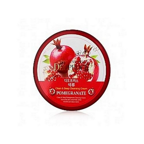 Крем Deoproce Premium Clean & Moisture Pomegranate Massage Cream 300 мл the yeon lotus roots 365 moisture bubble cream крем для лица увлажняющий 50 мл