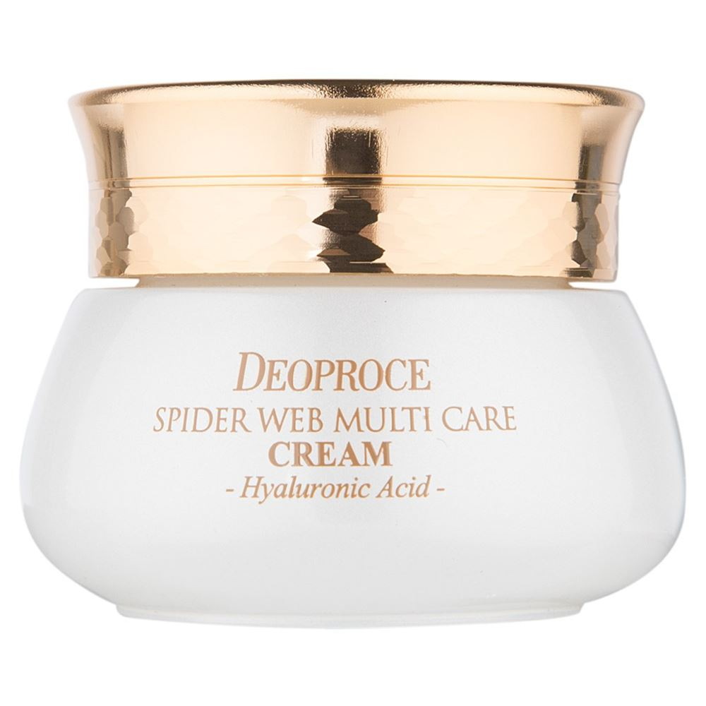 Крем Deoproce Spider Web Multi-Care Cream 50 мл лосьон deoproce silkvill nourishing care face