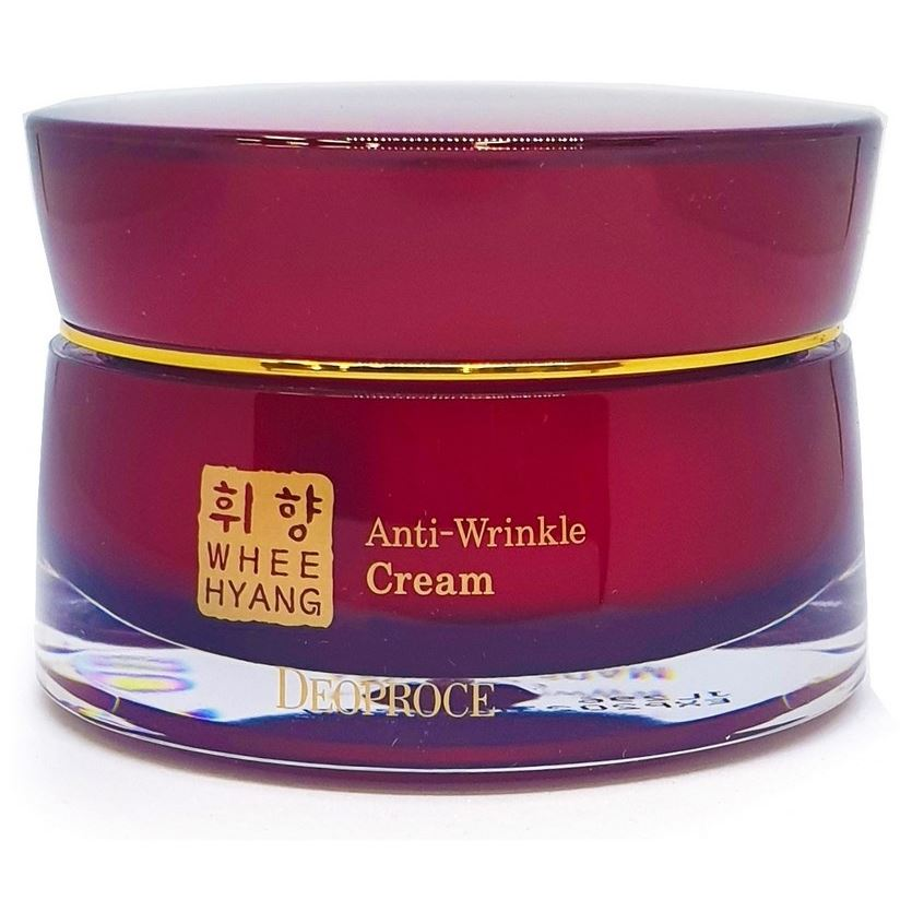 Крем Deoproce Whee Hyang Anti-Wrinkle Cream 50 мл the yeon canola honey wrapping multi cream крем для лица антивозрастной 100 мл
