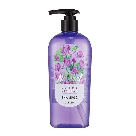 Шампунь Missha Natural Lotus Vinegar Shampoo missha бальзам для волос