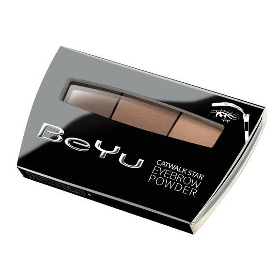 Корректоры BeYu Catwalk Star Eyebrow Powder (3 х 1.2 г) beyu румяна catwalk тон 20 7 5 г