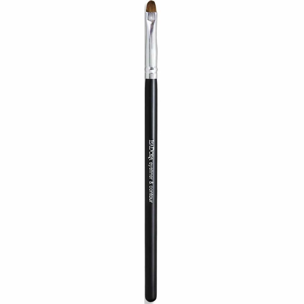 Кисть IsaDora Eye Liner & Contour Brush (1 шт.) карандаши isadora smoky eye liner waterproof 10