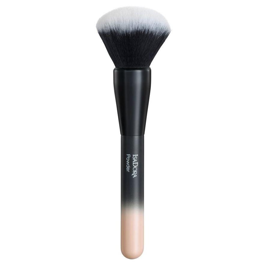 Кисть IsaDora Powder Brush  (1 шт.) isadora perfect powder blusher 24 цвет 24 sugar brown variant hex name b07a73
