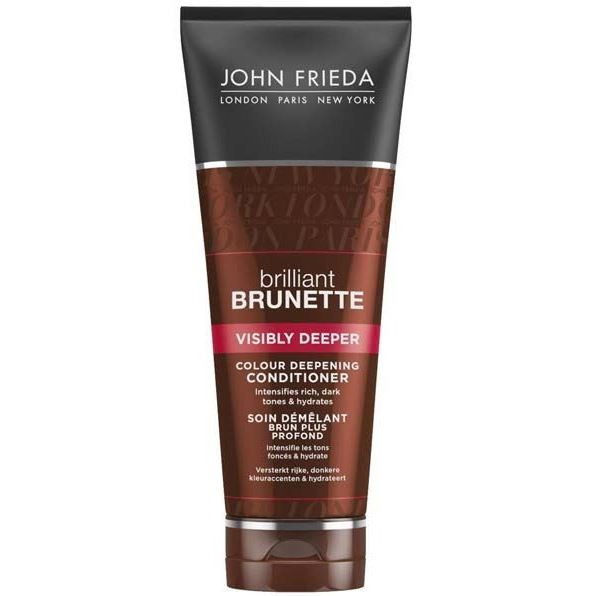 Кондиционер John Frieda Visibly Deeper Colour Deepening Conditioner 250 мл cocochoco кондиционер для окрашенных волос regular conditioner colour safe 250 мл кондиционер для окрашенных волос regular conditioner colour safe 250 мл 250 мл