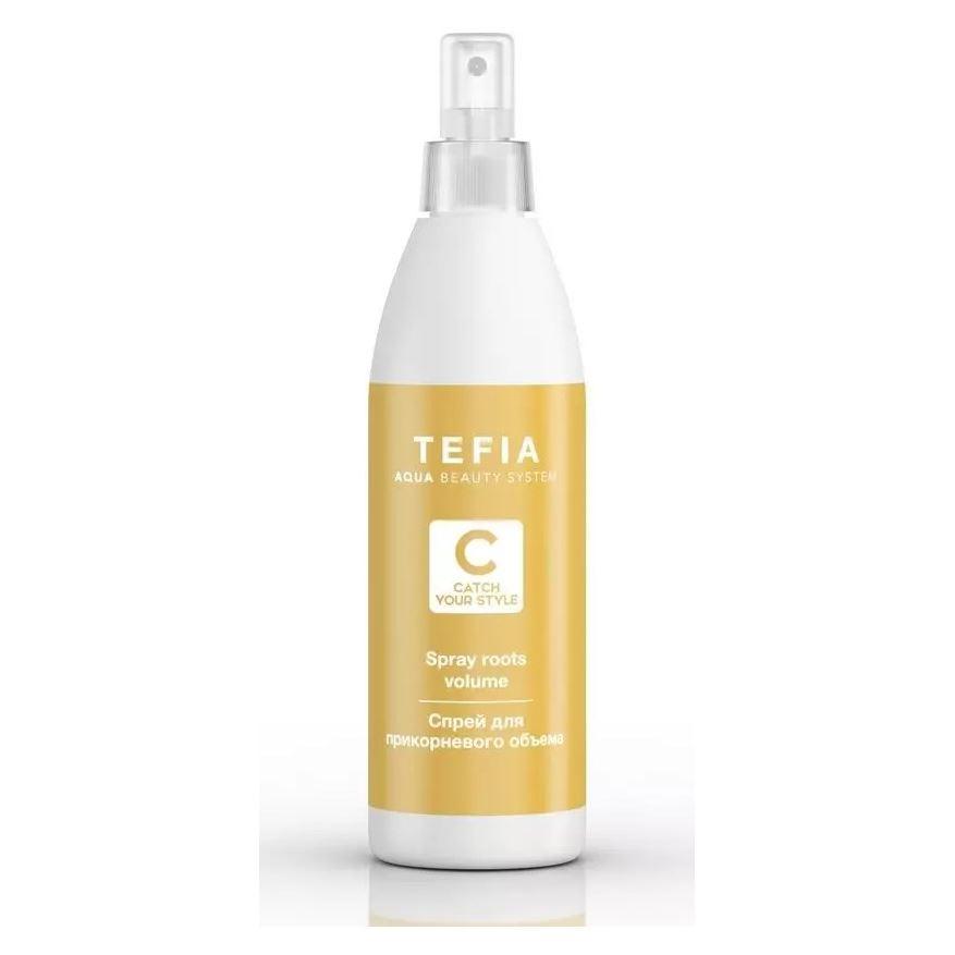 Спрей Tefia Spray Roots Volume 250 мл dikson спрей для объема для тонких волос dikson argabeta up spray volumizzante capelli di volume 2478 150 мл