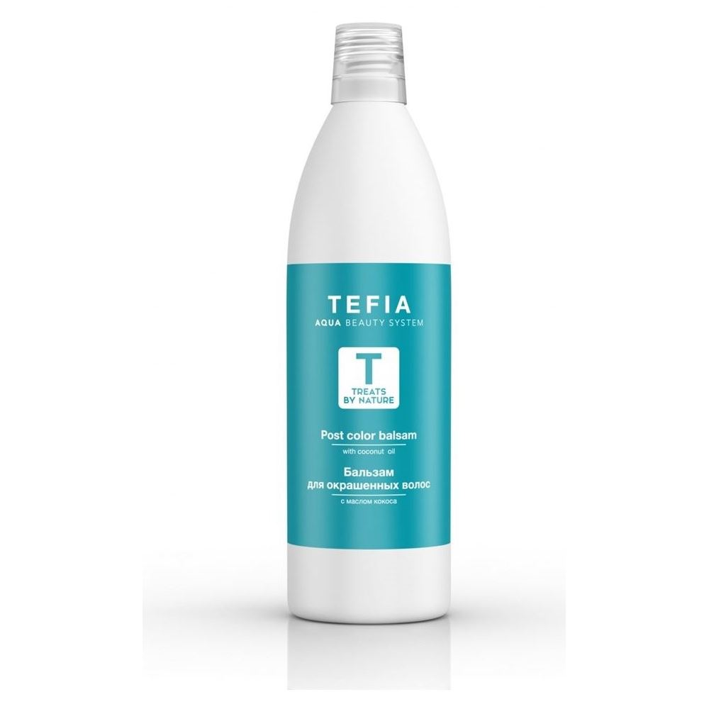 Бальзам Tefia Post Color Balsam With Coconut Oil 1000 мл бальзам tefia balsam for all hair types 250 мл