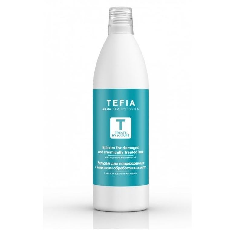Бальзам Tefia Balsam For Damaged And Chemically Treated Hair 1000 мл бальзам tefia balsam for all hair types 250 мл