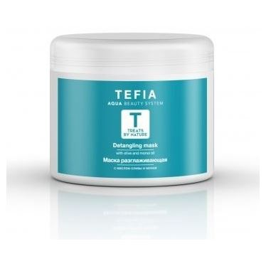 Маска Tefia Detangling Mask With Olive and Monoi Oil tefia hair coloring cream with monoi oil фуксия