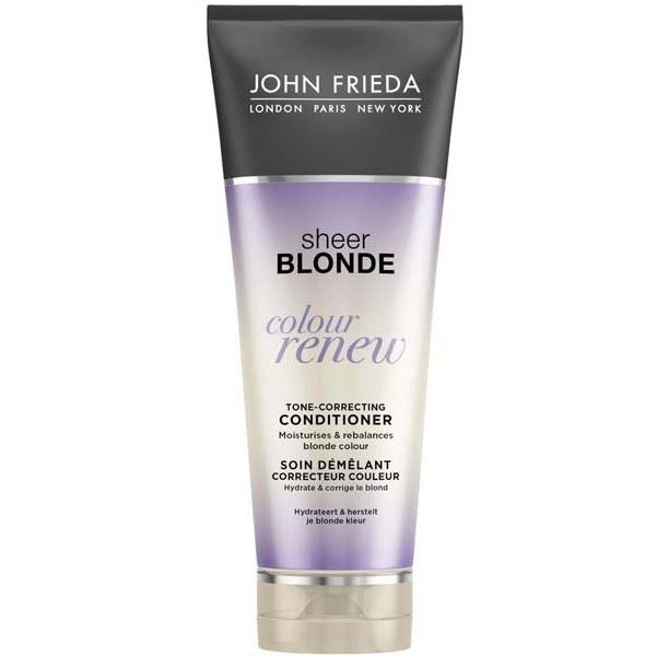 Кондиционер John Frieda Colour Renew Tone-Correcting Conditioner 250 мл cocochoco кондиционер для окрашенных волос regular conditioner colour safe 250 мл кондиционер для окрашенных волос regular conditioner colour safe 250 мл 250 мл