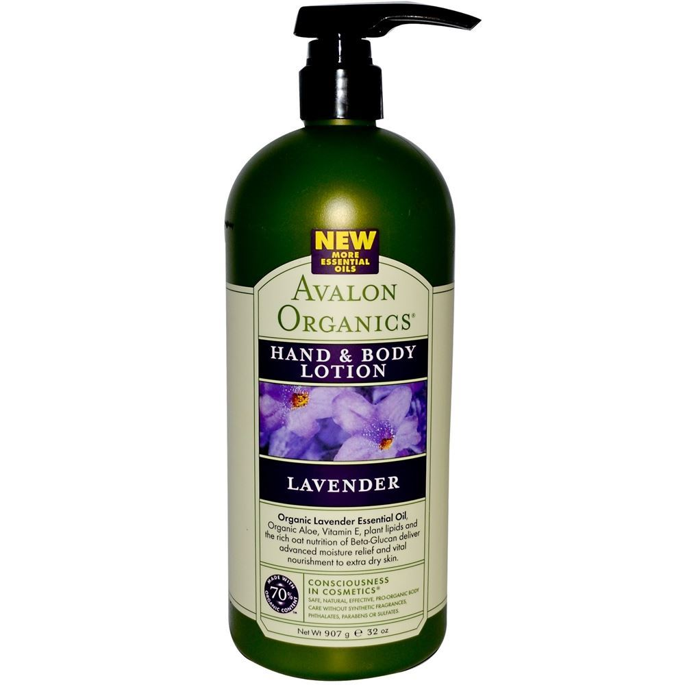 Лосьон Avalon Organics Lavender Hand & Body Lotion (57 г) лосьон для рук и тела avalon organics лосьон для рук и тела