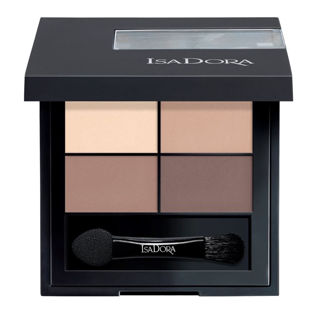 Тени для век IsaDora Eye Shadow Quartet  (44) тени для век isadora eye shadow quartet 03 цвет 03 urban green variant hex name a19388
