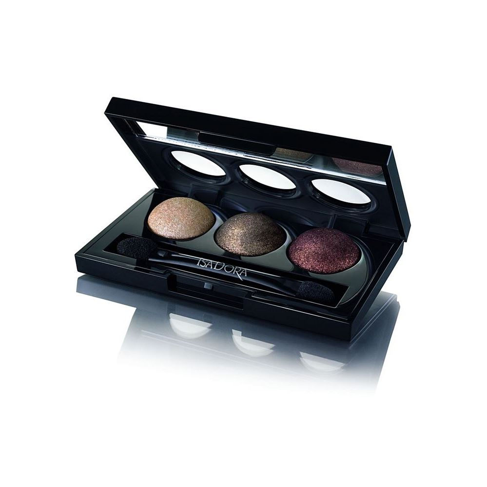 Тени для век IsaDora Eye Shadow Trio (86) тени для век isadora eye shadow quartet 03 цвет 03 urban green variant hex name a19388