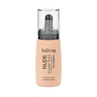 Тональный крем IsaDora Nude Super Fluid Foundation (16) база под макияж isadora strobing fluid highlighter 81