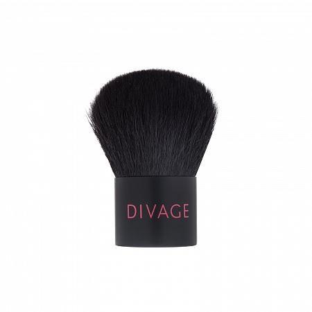 Кисть Divage Professional Line Натуральная кисть Kabuki  (1 шт) набор 331 кисть кабуки professional line палетка face strobing eyelash
