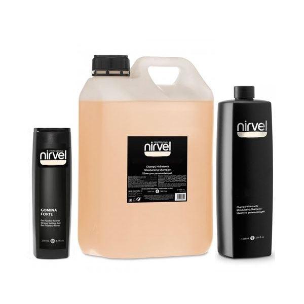 Шампунь Nirvel Professional Shampoo Volume & Texture Chitosan & Panthenol 5000 мл систем 4 восстановитель волос терапевтический с хитозаном r спрей 200мл