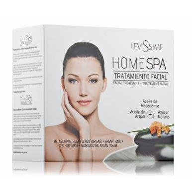 Набор: Крем Levissime Home Spa Facial Pack набор масло levissime home spa body pack