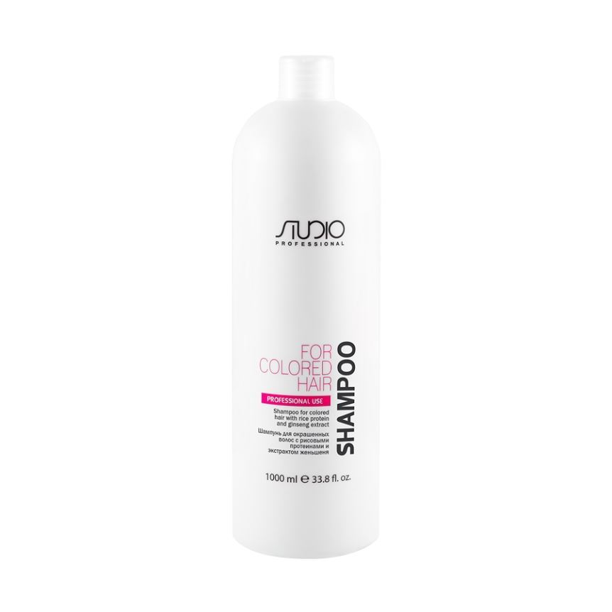Шампунь Kapous Professional Shampoo For Colored Hair With Rice Protein And Ginseng Extract 1000 мл шампунь secret key mu coating silk protein shampoo