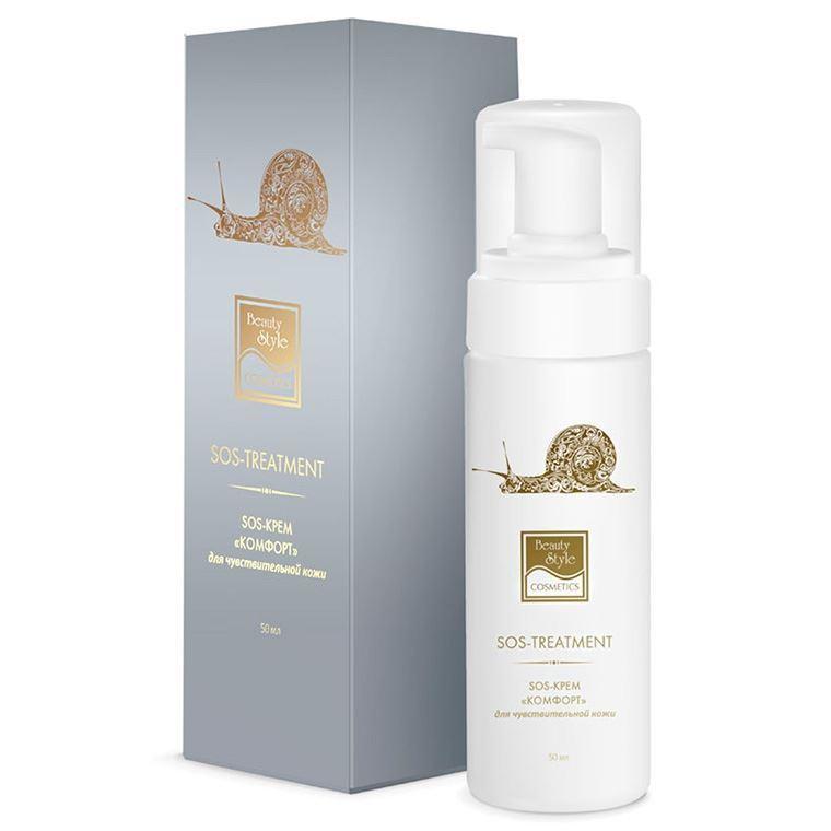 Крем Beauty Style SOS - Крем Комфорт для чувствительной кожи  50 мл