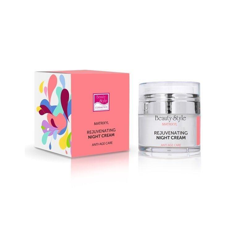 Крем Beauty Style Ночной крем с матриксилом с омолаживающим эффектом