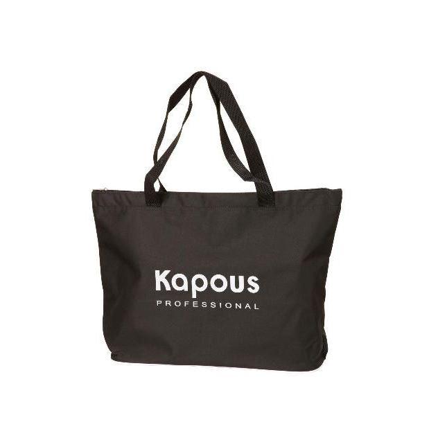 Сопутствующие товары Kapous Professional Сумка Профи (черная) сопутствующие товары kapous professional пластмассовый насос дозатор для флаконов 28 415 натуральный 0 5 л