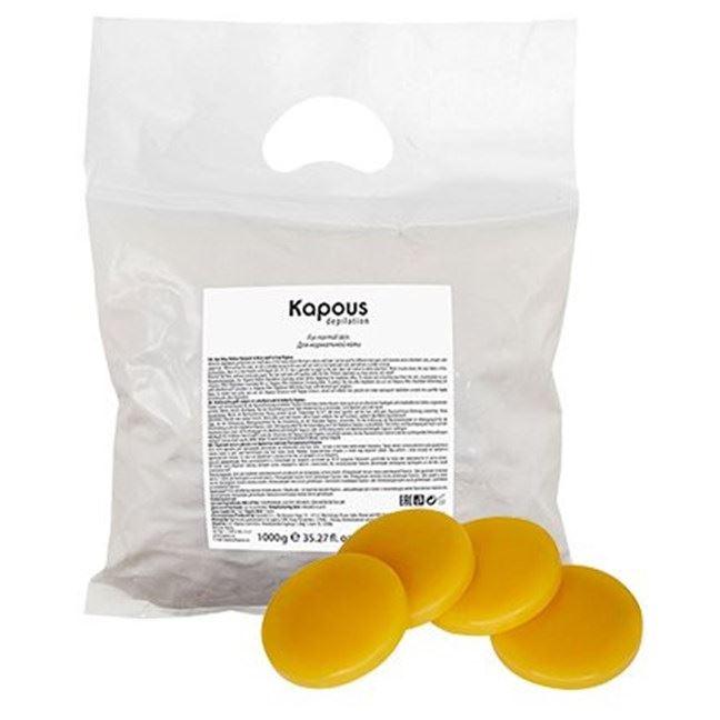 Воск Kapous Professional Elastic Wax Yellow (1 кг) воск beauty image воск в кассетах белый 145 гр