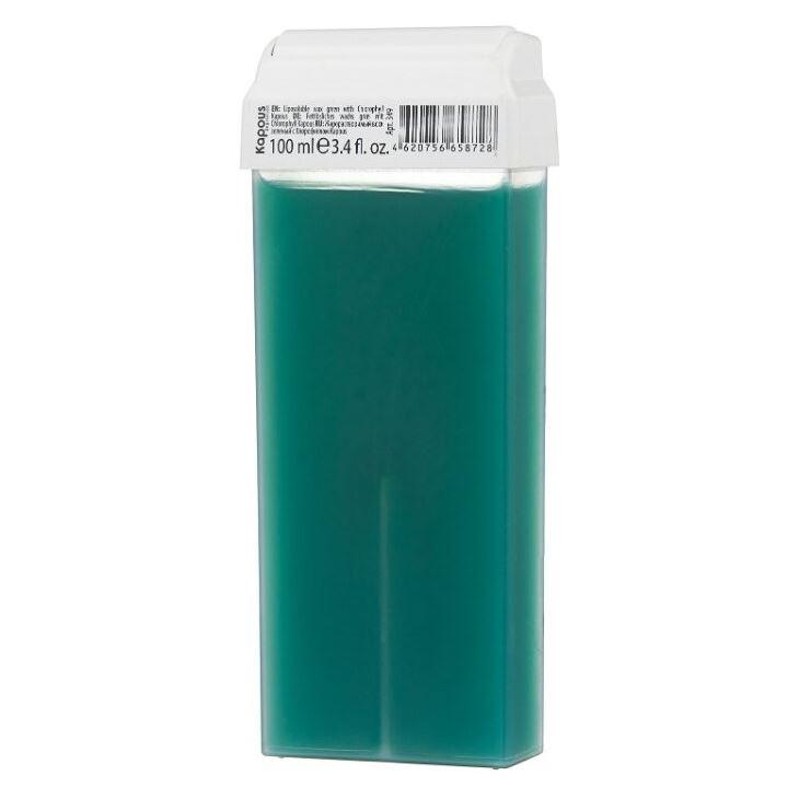 Воск Kapous Professional Воск в кассетах Зеленый с Хлорофиллом с широким роликом