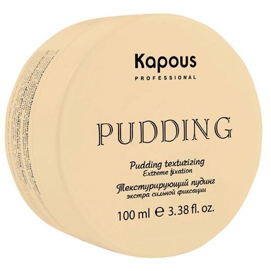 Мусс Kapous Professional Pudding Texturizing Extreme Fixation 100 мл eva professional паста для укладки eva professional evajazz rock paste 146105 100 мл