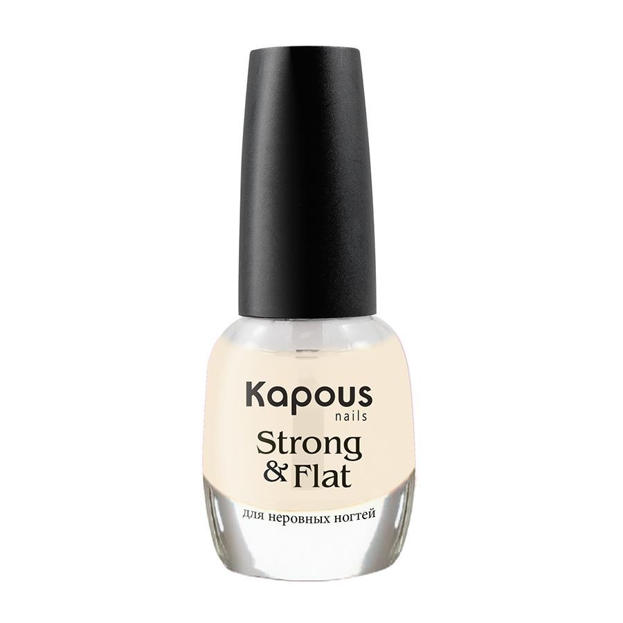 Лак Kapous Professional Strong & Flat 12 мл kapous professional экспресс маска 2 ампулы по 12 мл magic kerartin –