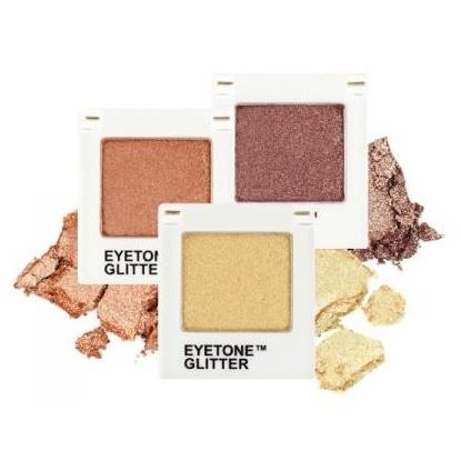 Тени для век Tony Moly Eyetone Single Shadow (Glitter) (G05) спонж tony moly water latex free sponge 1 шт
