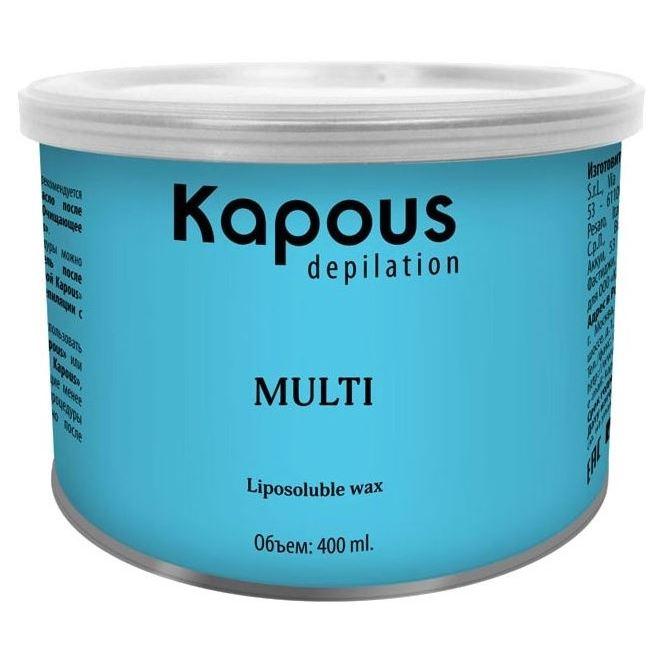 Воск Kapous Professional Воск в банке GOLD 400 мл