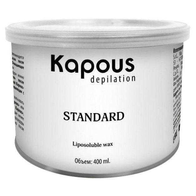 Воск Kapous Professional Воск в банке Розовый с Диоксидом Титаниума 800 мл c какого возраста можно иностранную валюту в банке