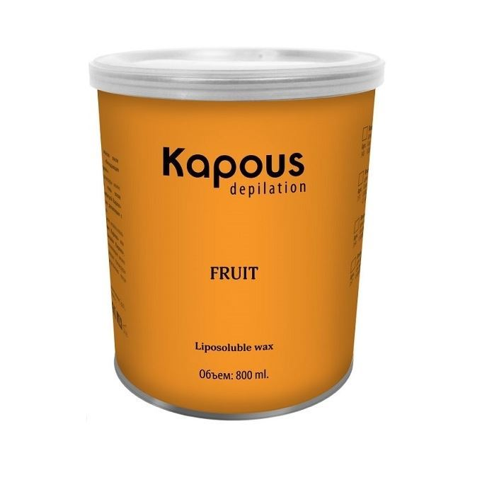 Воск Kapous Professional Воск в банке Зеленое Яблоко 400 мл