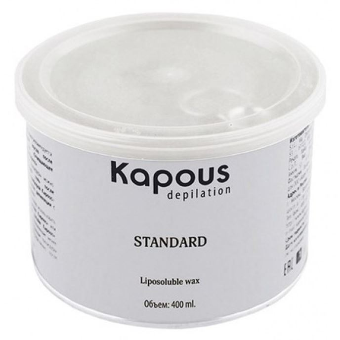 Воск Kapous Professional Воск в банке с Оксидом цинка 800 мл c какого возраста можно иностранную валюту в банке