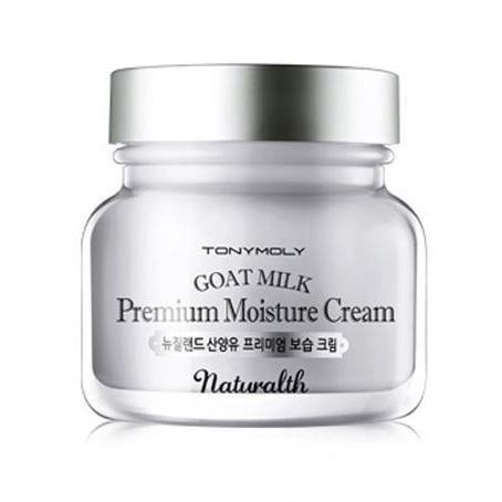 Крем Tony Moly Naturalth Goat Milk Premium Moisture Cream 60 мл