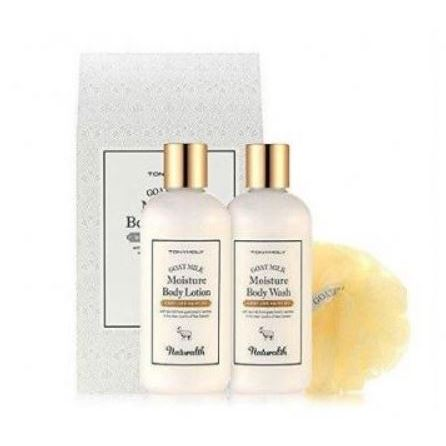 все цены на  Набор: Гель Tony Moly Naturalth Goat Milk Moisture Body Gift Set  онлайн