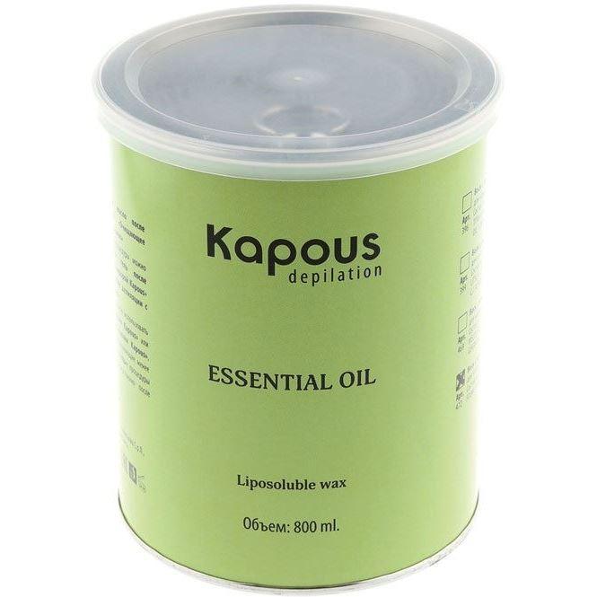 Воск Kapous Professional Воск в банке с эфирным маслом Петит-грея 800 мл c какого возраста можно иностранную валюту в банке