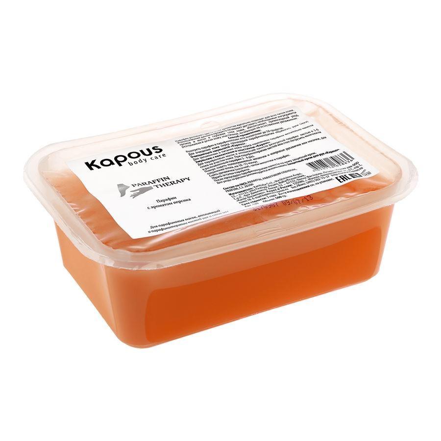 Воск Kapous Professional Парафин ароматический в брикете (с ароматом персика) kapous где в ульяновске