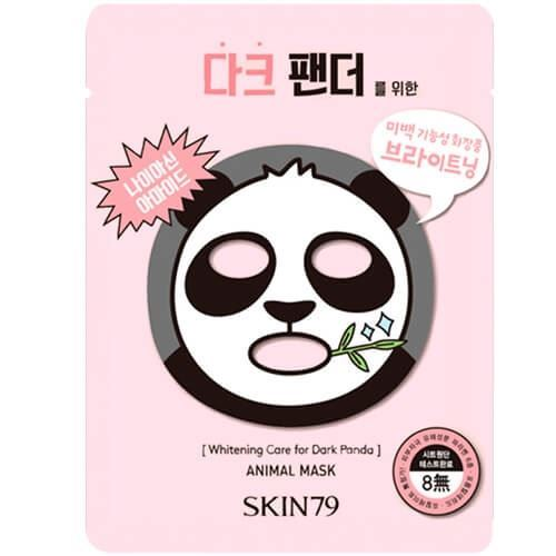 Маска Skin79 Animal Mask Whitening Care For Dark Panda (1 шт) тканевая маска bioaqua animal tiger supple mask объем 30 г