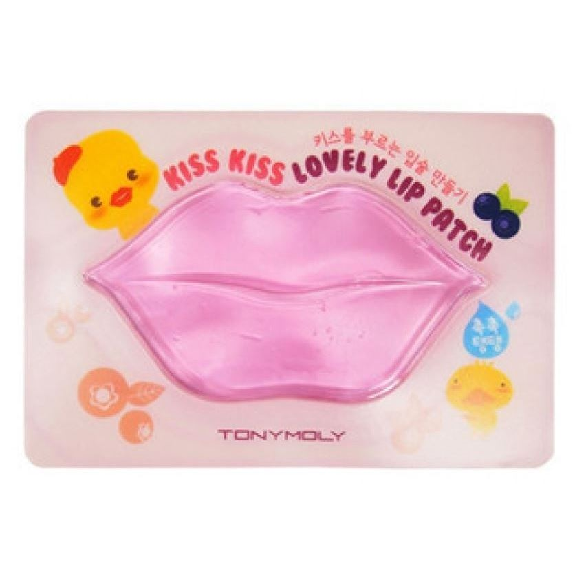 Маска Tony Moly Kiss Kiss Lovely Lip Patch (10 г) tony moly sheet gel mask kiss kiss lovely lip patch патчи для губ 10 г