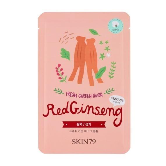 Маска Skin79 Fresh Garden Mask Red Ginseng (1 шт) маска skin79 fresh garden mask pearl 1 шт