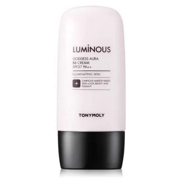 Тональный крем Tony Moly Luminous Goddess Aura Blur BB (01) тональный крем tony moly luminous goddess aura bb spf 37 01