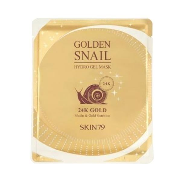 Маска Skin79 Golden Snail Hydro Gel Mask 24K Gold (1 шт) недорого